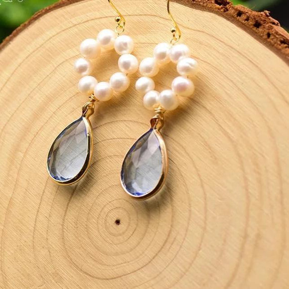 Ash Pearl Earrings