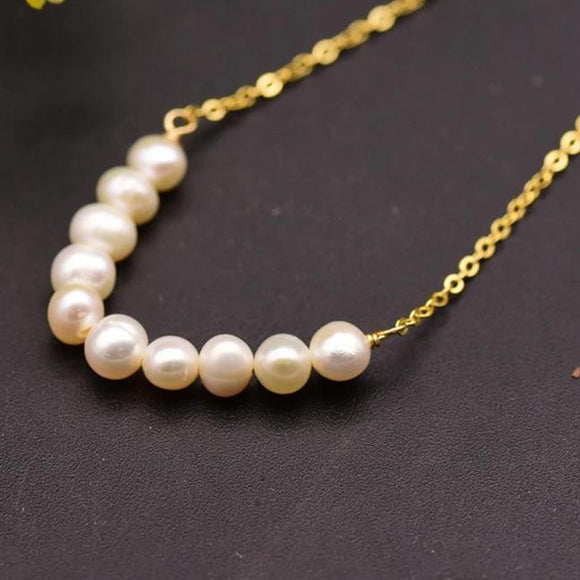 Lustrous Pearl Necklace