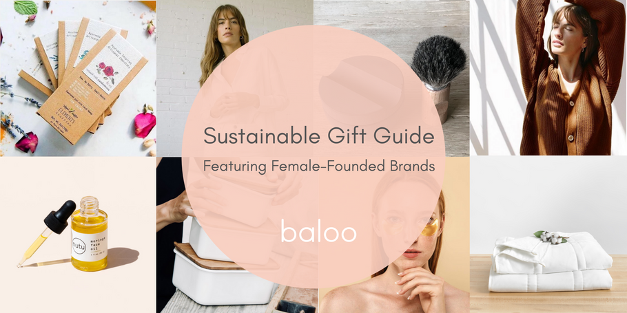 Best Sustainable Gift Guide Featuring Female Founded Brands