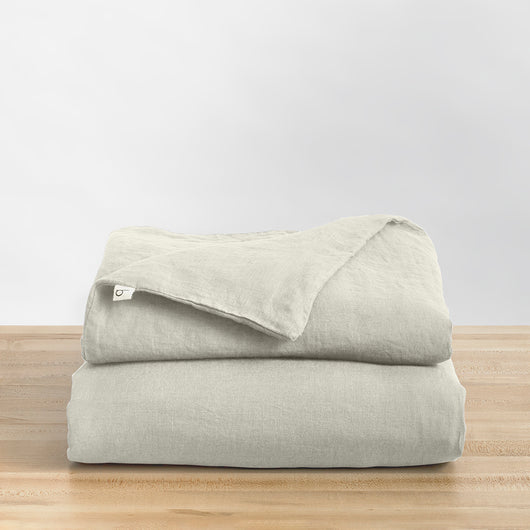 Linen Duvet ·  Full/Queen Weighted Blanket Fit (60x80 in.)