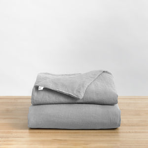 Linen Duvet · King Weighted Blanket Fit (80x87 in.)