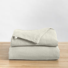 Linen Duvet ·  Throw size/Twin Weighted Blanket Fit