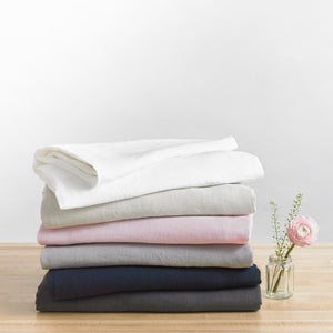 Linen Duvet Cover ·  Full/Queen Weighted Blanket Fit