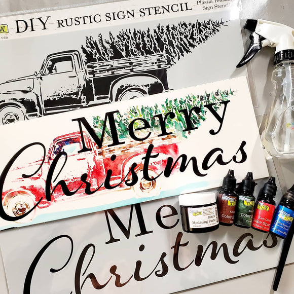 Holiday Sign Stencils
