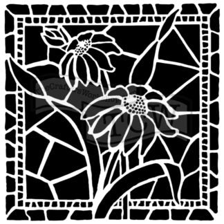 TCW657 Stained Glass Daisies