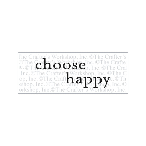 TCW2175 Choose Happy