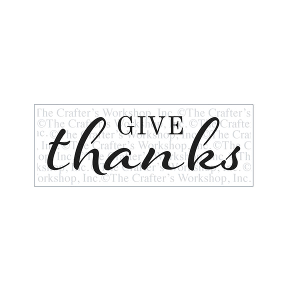 TCW2178 Give Thanks