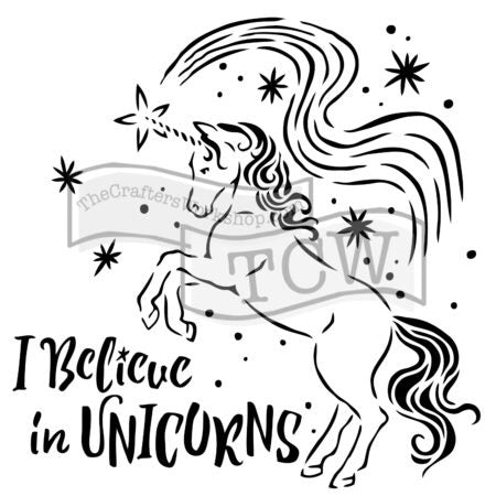 TCW818 Believe in Unicorns