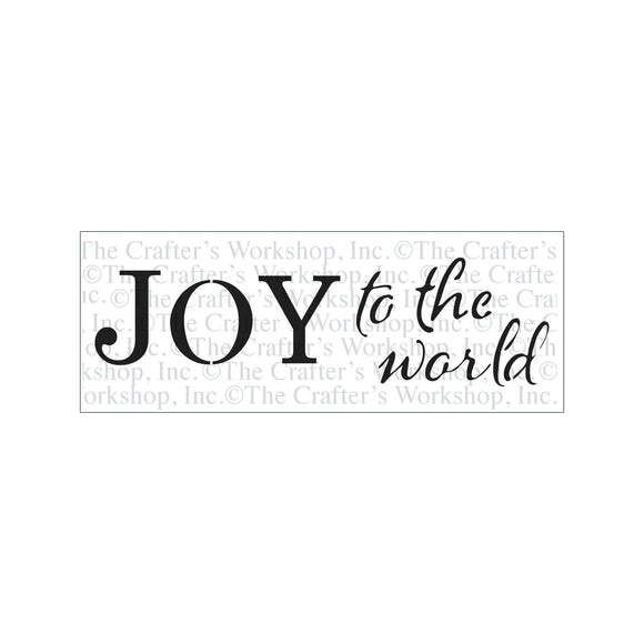 TCW2181 Joy To The World