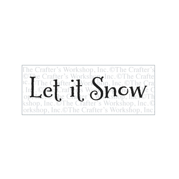 TCW2179 Let It Snow