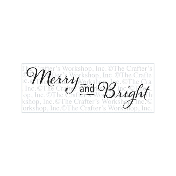 TCW2183 Merry and Bright