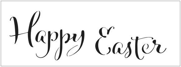 TCW2412 Happy Easter Sign Stencil 16½