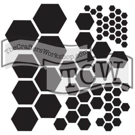 TCW324 Hexagons