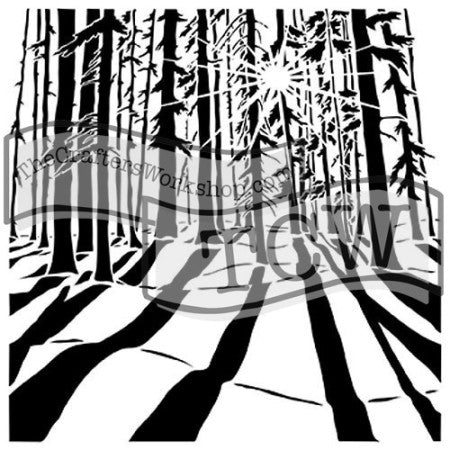 TCW517 Sunlit Forest