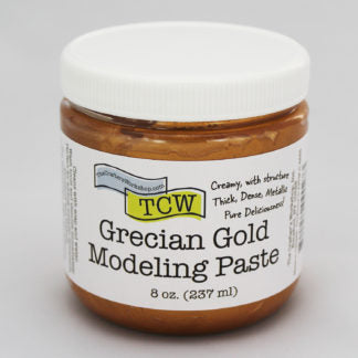 TCW9027 Grecian Gold Modeling Paste