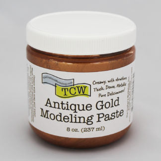 TCW9028 Antique Gold Modeling Paste