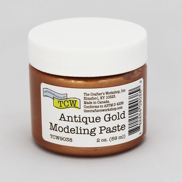 TCW9038 Antique Gold Modeling Paste