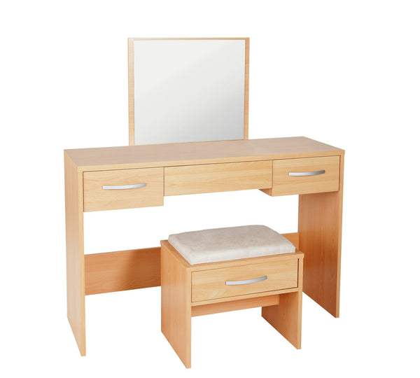 Harlow Dressing Table Set - Beech