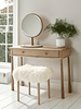 Roscoe Oak Dressing Table
