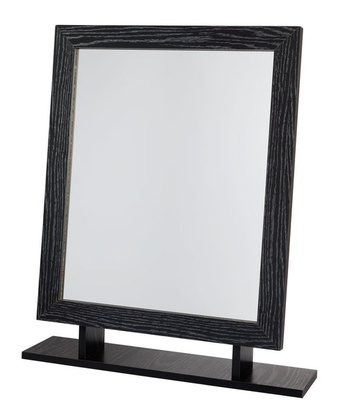 Amber Dressing Table Mirror - Black