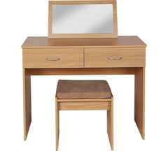 Katy Dressing Table Set - Oak Effect