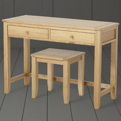Clara Solid Oak Dressing Table