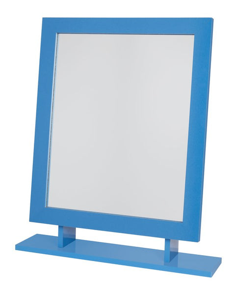 Amber Dressing Table Mirror - Blue