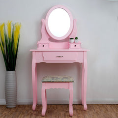 Ella Dressing Table Set - Pink