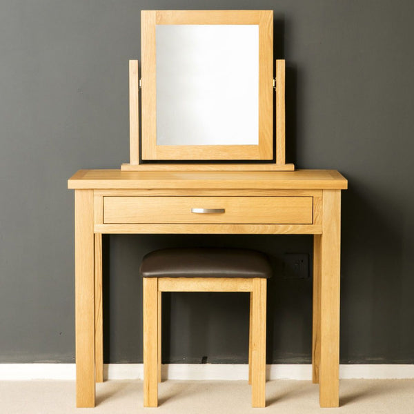 Mabel Solid Oak Dressing Table