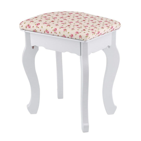 Lexi Dressing table Stool – Floral