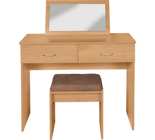 Katy Dressing Table Set – Beech Effect