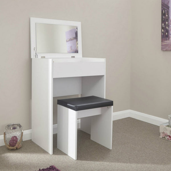 Electra Dressing Table Set - White
