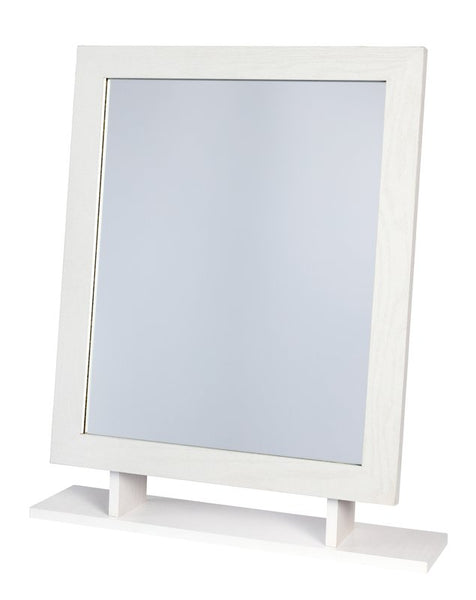 Amber Dressing Table Mirror - White