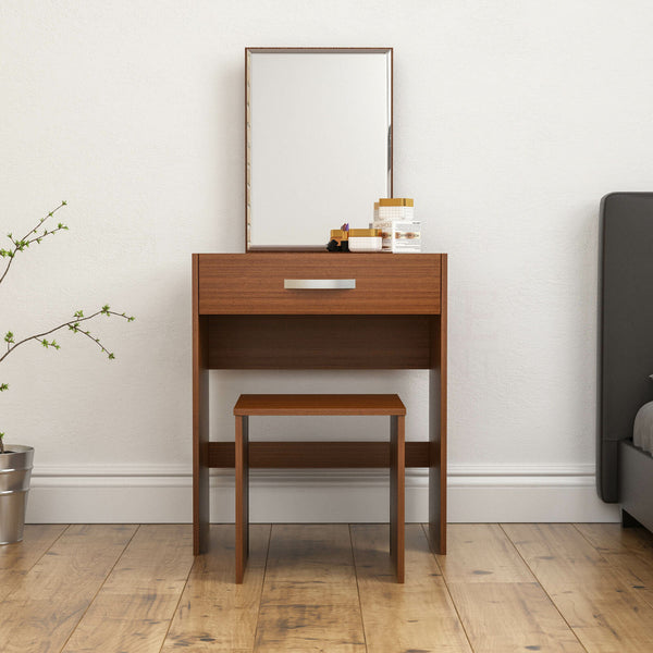 Carreno Dressing Table Set - Walnut