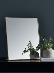 Brass Dressing Table Mirror