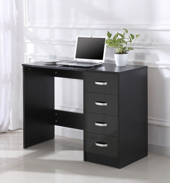 Harmen Dressing Table – Black Gloss
