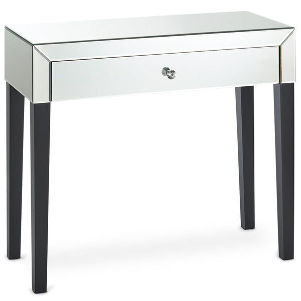 Savil Mirrored Dressing Table – 1 Drawer – Mirrored