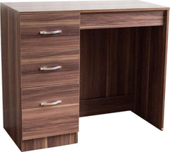 Londa Dressing Table 3 Drawer Walnut | Buy From DRESSING TABLES UK | FREE DELIVERY to Mainland UK