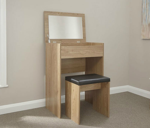 Electra Dressing Table Set - Oak