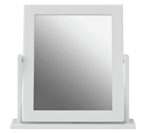 Clara Dressing Table Mirror - White