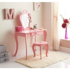 Alarna Childrens Dressing Table Set - Pink