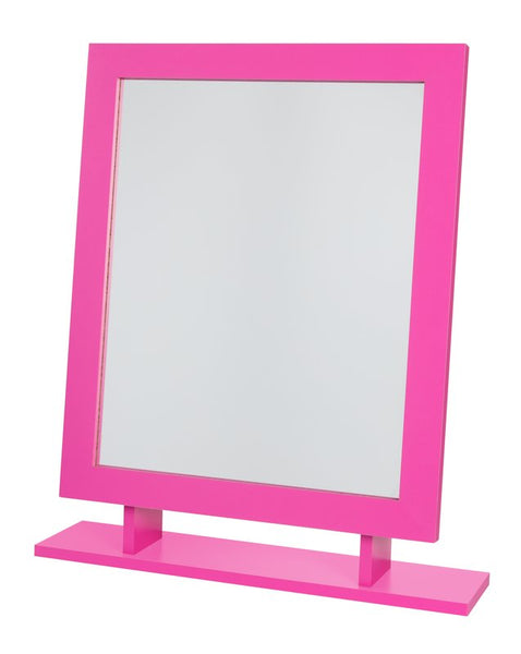 Amber Dressing Table Mirror - Pink