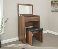 Electra Dressing Table Set - Walnut