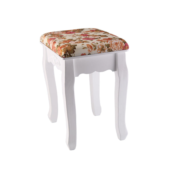 Zena Dressing Table Stool - Peony Floral