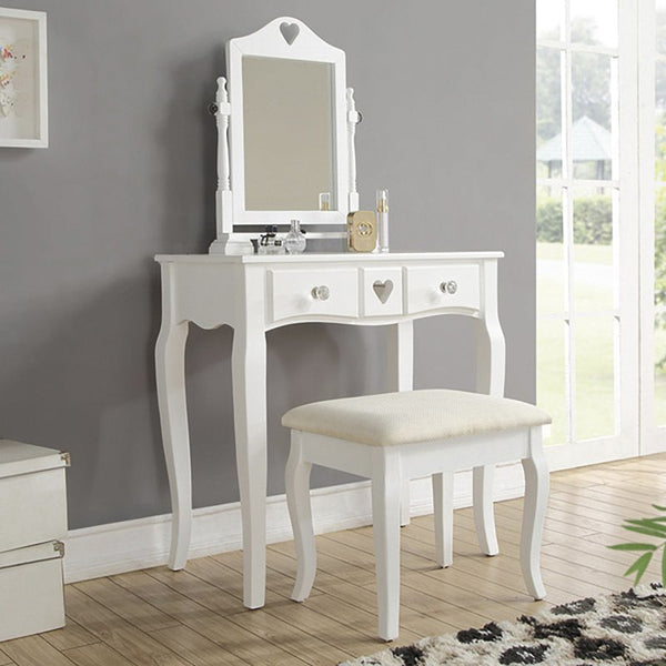 Sara Dressing Table Set with Mirror