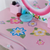 Elissa Childrens Dressing Table Set Pink & White | Buy From DRESSING TABLES UK - DELIVERY FREE UK MAINLAND