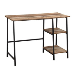 Burdan Industrial Dressing Table 2 Shelves Brown | BUY FROM DRESSING TABLES UK | FREE DELIVERY UK MAINLAND