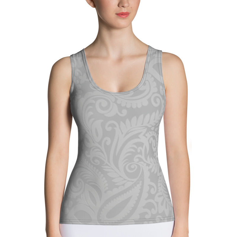 Grey Shades Tank Top