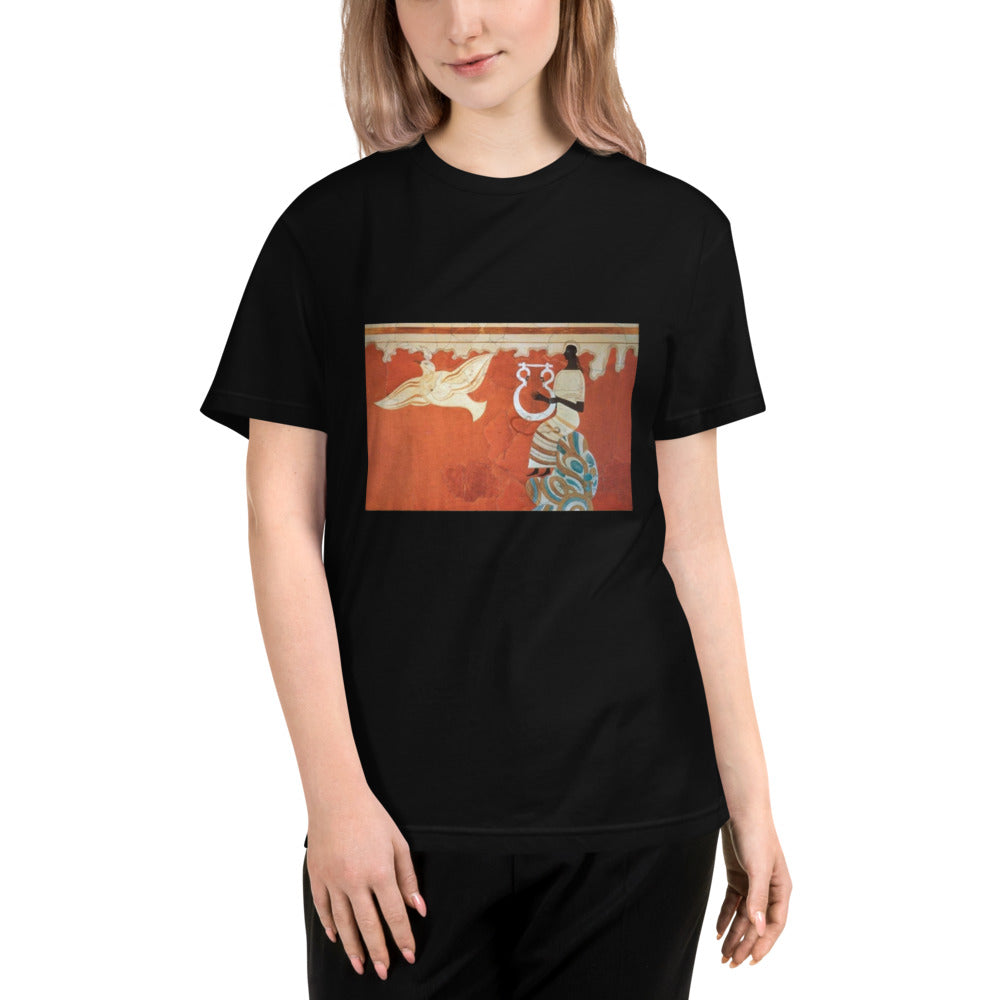 Ancient Ladies in a Sustainable T-Shirt