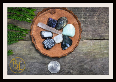 7 Chakra Gemstone Kit Clear Quartz Healing Gemstone Set 7 Chakra Crystals Set Healing 7 Chakra Gemstones Intention Stones Lithiotherapy Set